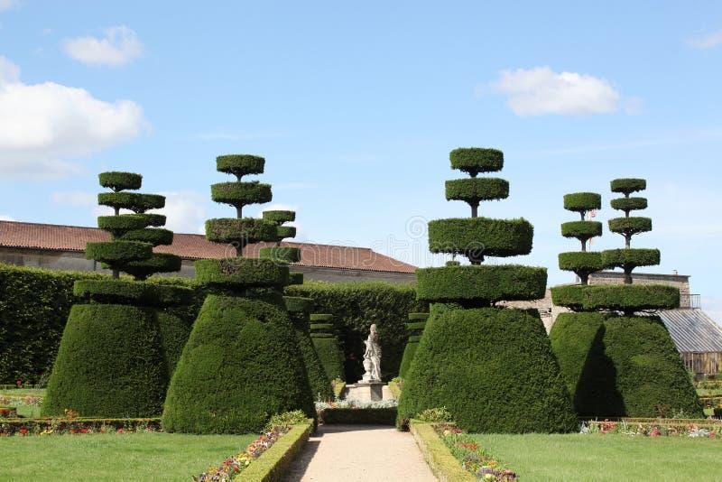 επίσημος γαλλικός κήπος στοκ φωτογραφίες