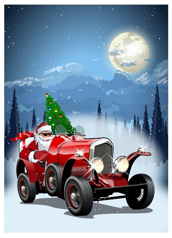 επίσης διανυσματικός χειμώνας προγραμμάτων Χριστουγέννων καρτών ελεύθερη απεικόνιση δικαιώματος