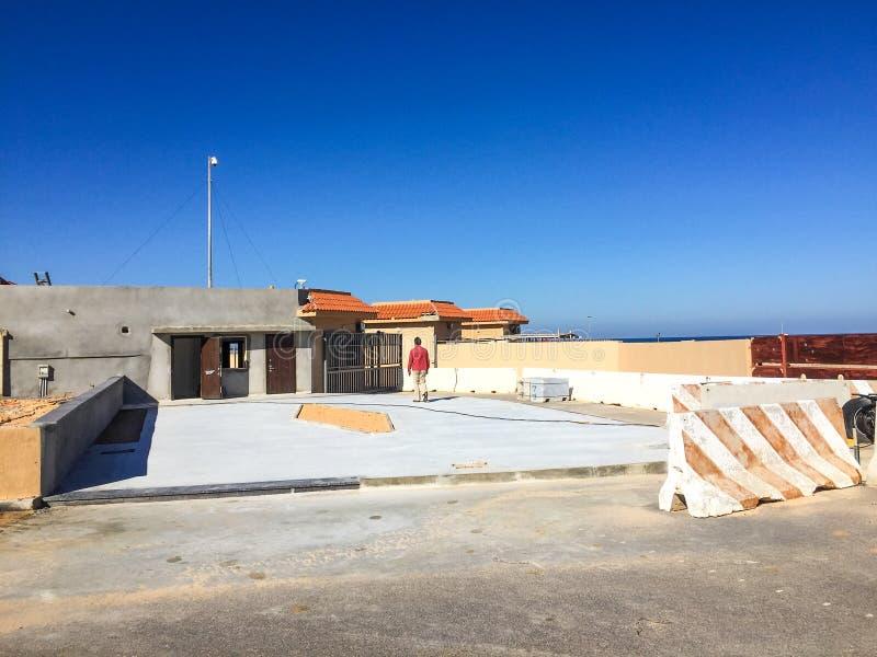 Επίσκεψη στην Τρίπολη στη Λιβύη το 2016 στοκ εικόνες