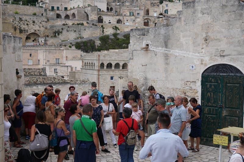 Επίσκεψη της αρχαίας πόλης $matera, Ιταλία στοκ φωτογραφίες με δικαίωμα ελεύθερης χρήσης