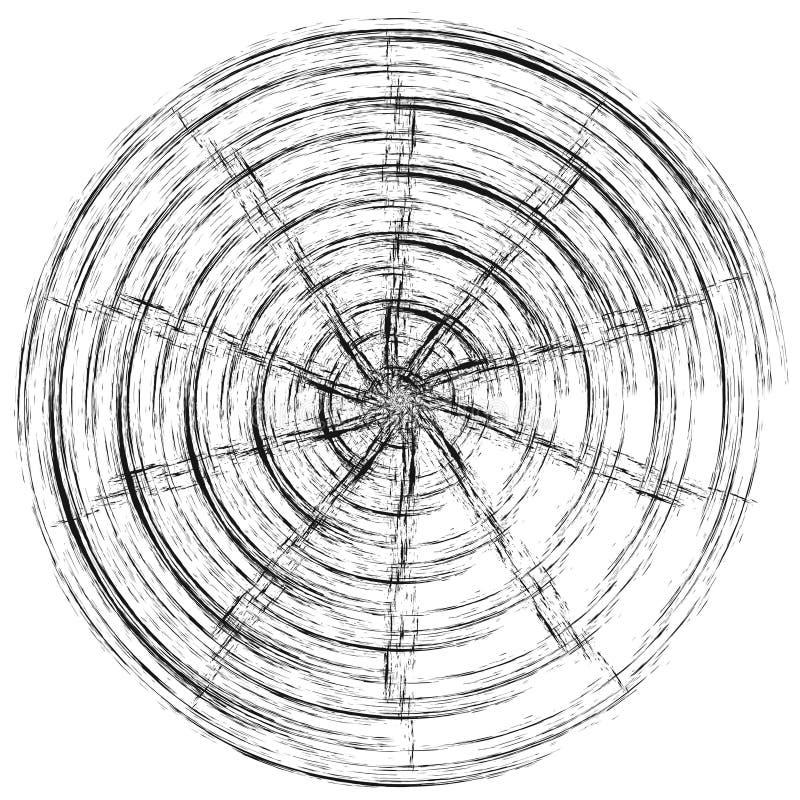 Επίδραση ροδών περιστροφής της δίνης απεικόνιση αποθεμάτων