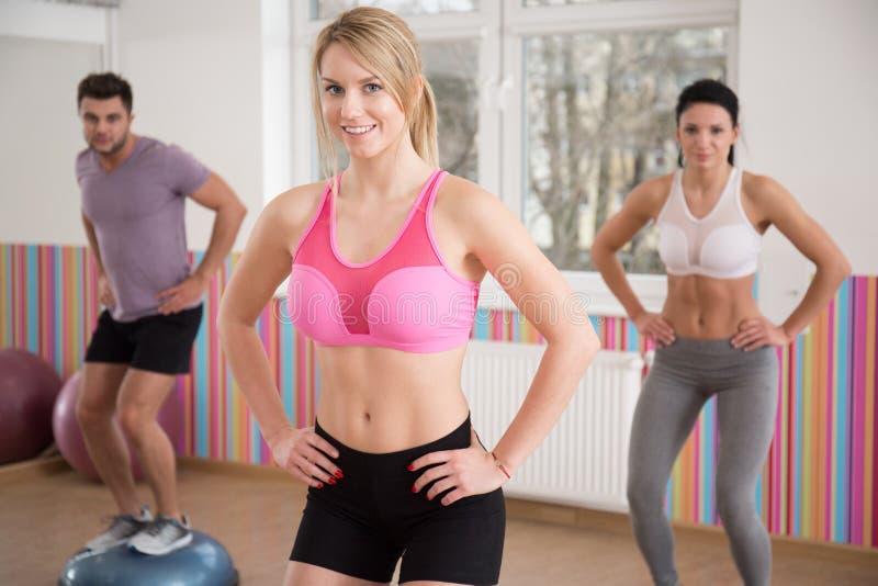 Επίλυση στη γυμναστική στοκ φωτογραφία με δικαίωμα ελεύθερης χρήσης