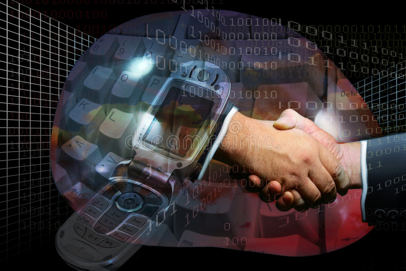 επαγγελματίας συμφωνίας διανυσματική απεικόνιση