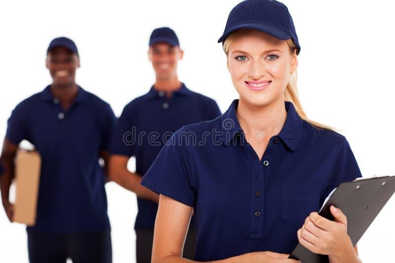 Επαγγελματική υπηρεσία παράδοσης στοκ φωτογραφία με δικαίωμα ελεύθερης χρήσης