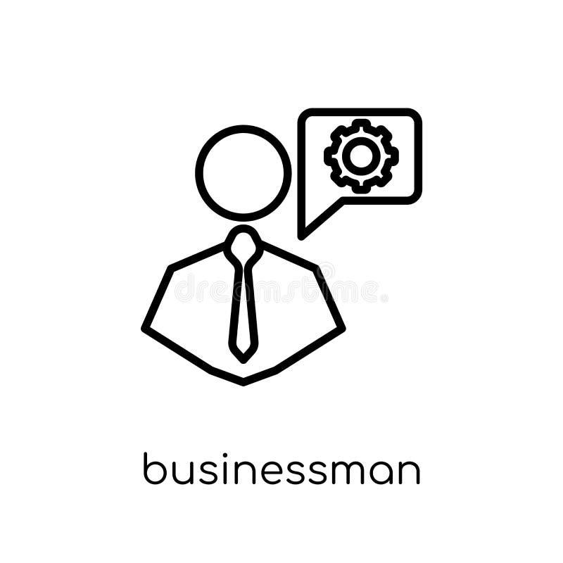 Επαγγελματικό εικονίδιο επιχειρηματιών από τη στρατηγική 50 συλλογή διανυσματική απεικόνιση