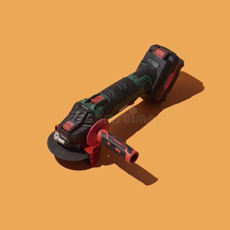 Επαγγελματικό ηλεκτρικό sander για την ξυλουργική διανυσματική απεικόνιση
