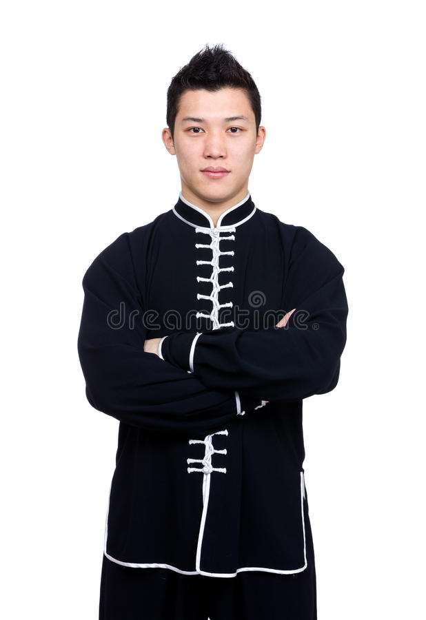 Επαγγελματικός κινεζικός δάσκαλος kung fu στοκ εικόνες