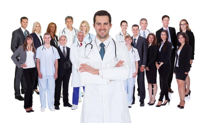 Επαγγελματικό προσωπικό νοσοκομείου στοκ εικόνες