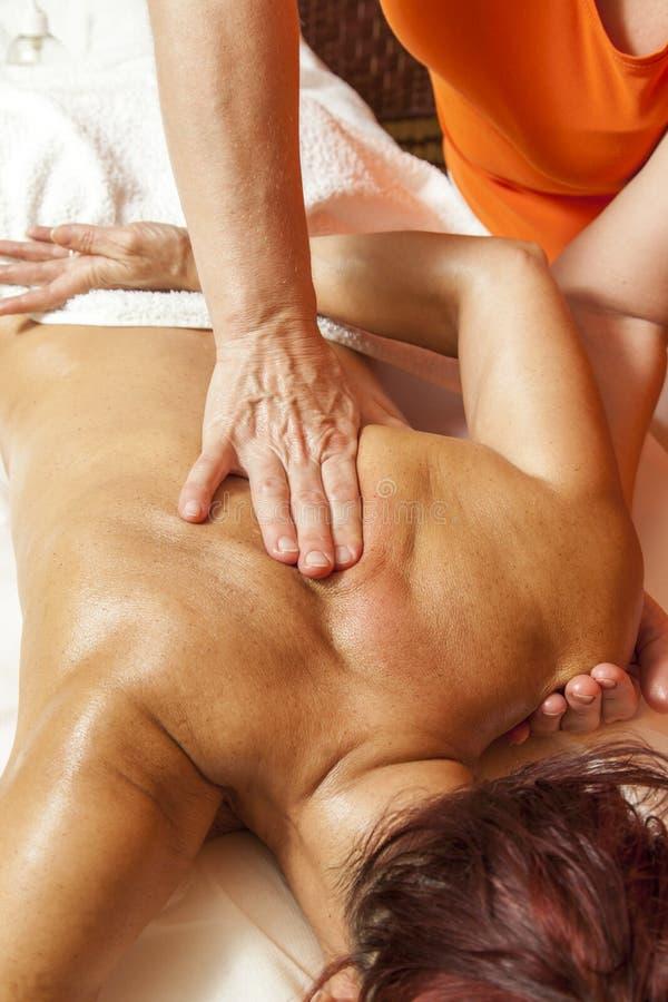 Επαγγελματικό masagge και λεμφατικοη αποξήρανση - vario στοκ φωτογραφίες