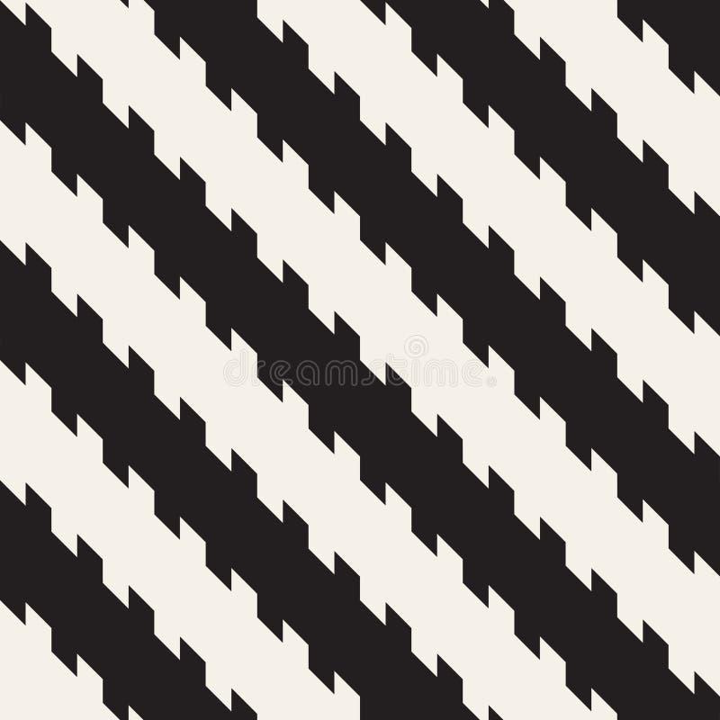 Επανάληψη της σύγχρονης σύστασης λωρίδων Απλό κανονικό υπόβαθρο γραμμών Μονοχρωματικό γεωμετρικό άνευ ραφής σχέδιο απεικόνιση αποθεμάτων