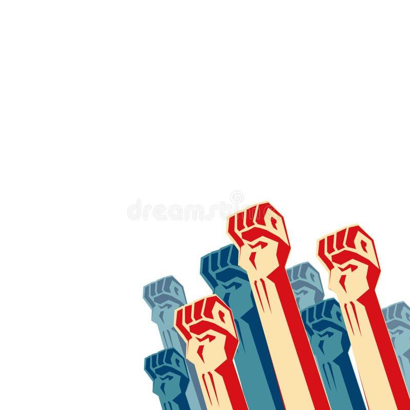 επανάσταση διανυσματική απεικόνιση