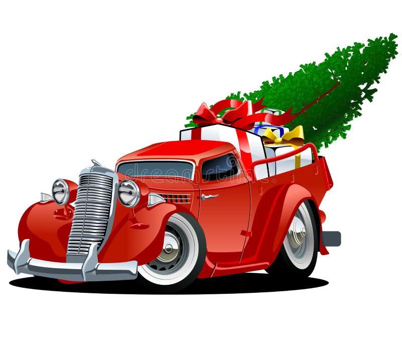 Επανάλειψη Χριστουγέννων κινούμενων σχεδίων ελεύθερη απεικόνιση δικαιώματος