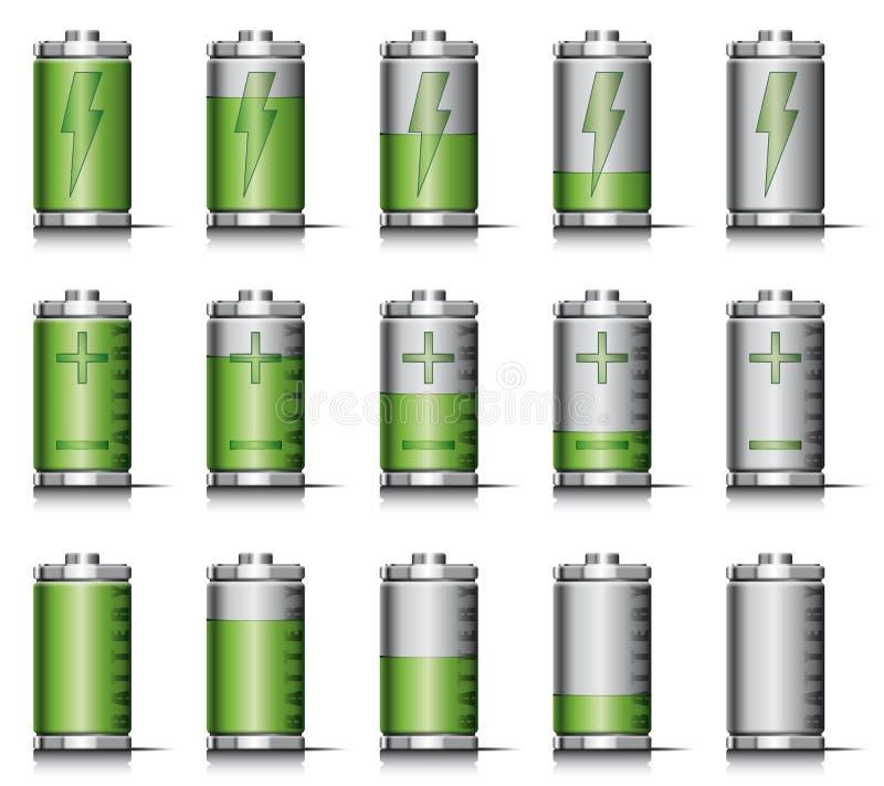 Επαναφόρτιση της μπαταρίας απεικόνιση αποθεμάτων