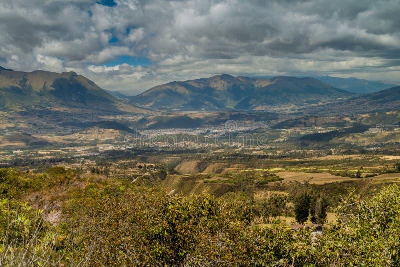 Επαρχία γύρω από Otavalo, Ισημερινός στοκ εικόνα με δικαίωμα ελεύθερης χρήσης