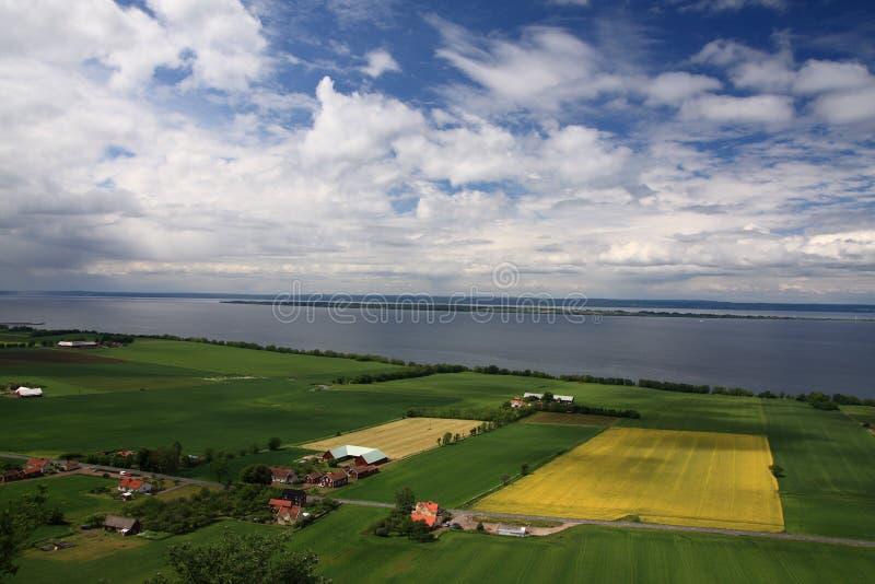 επαρχία σουηδικά στοκ εικόνα