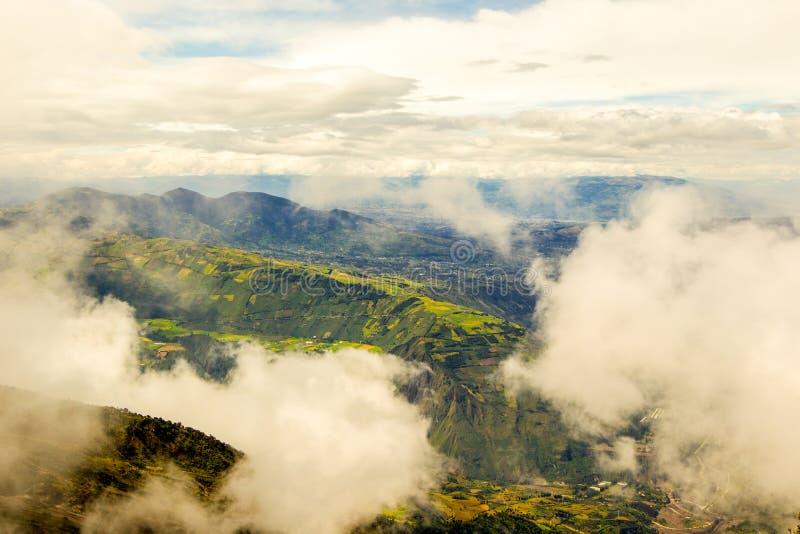 Επαρχία Tungurahua στον Ισημερινό στοκ φωτογραφία με δικαίωμα ελεύθερης χρήσης