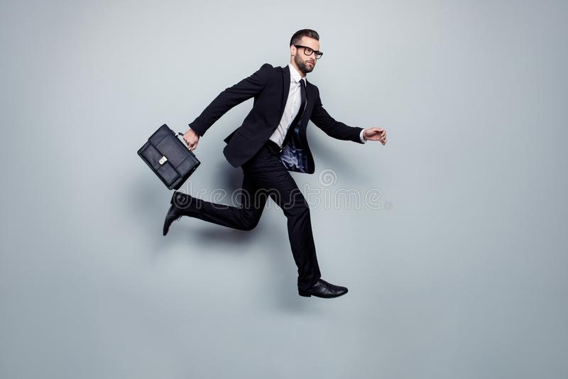 Επενδυτών επαγγελματικό manag καθυστέρησης επείγουσας ανάγκης ταχύτητας δικηγόρων εκτελεστικό στοκ εικόνα με δικαίωμα ελεύθερης χρήσης