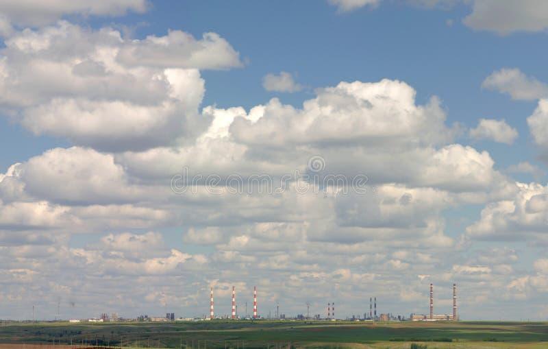 επεξεργασία αερίου ερ&gam στοκ εικόνες