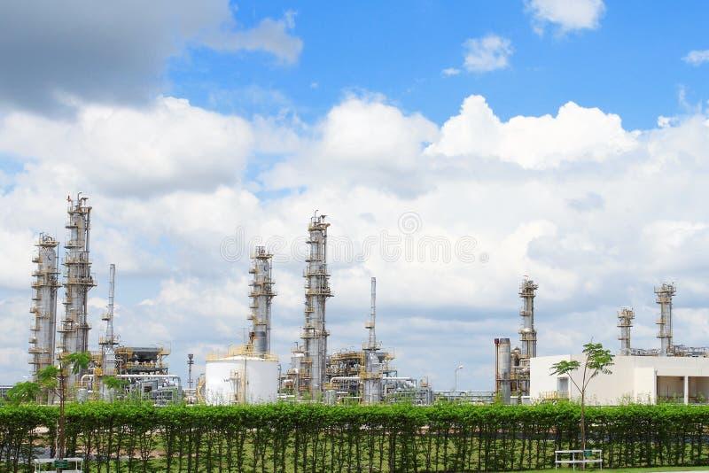 επεξεργασία αερίου ερ&gamm στοκ εικόνα με δικαίωμα ελεύθερης χρήσης