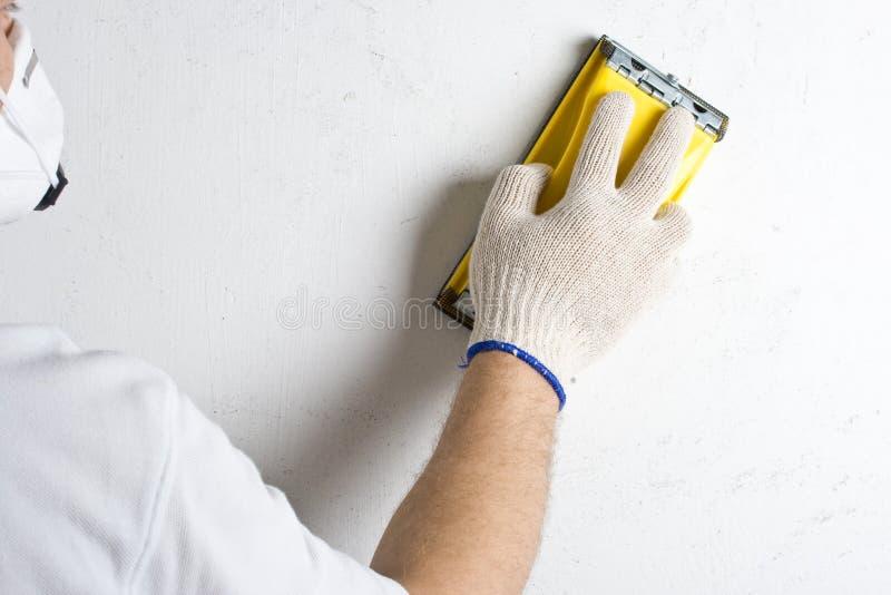 επεξεργασία sandp του τοίχο& στοκ φωτογραφία με δικαίωμα ελεύθερης χρήσης