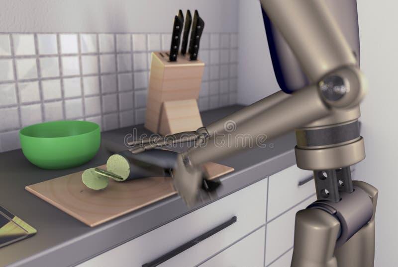 Επεξεργαστής τροφίμων απεικόνιση αποθεμάτων