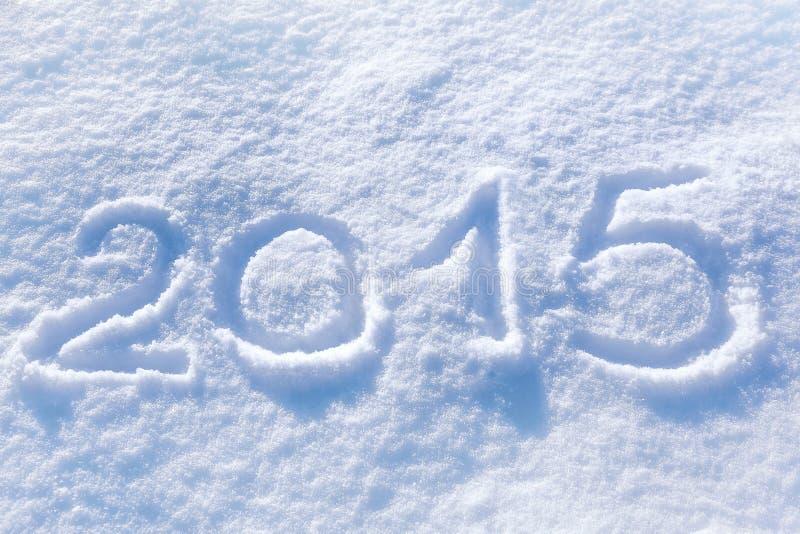 επιγραφή του 2015 στοκ εικόνες
