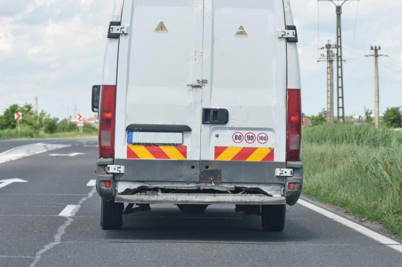 Επιδεινωμένο φορτηγό στοκ εικόνες