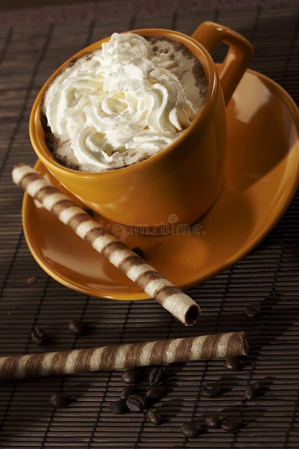 επιδόρπιο καφέ στοκ φωτογραφία