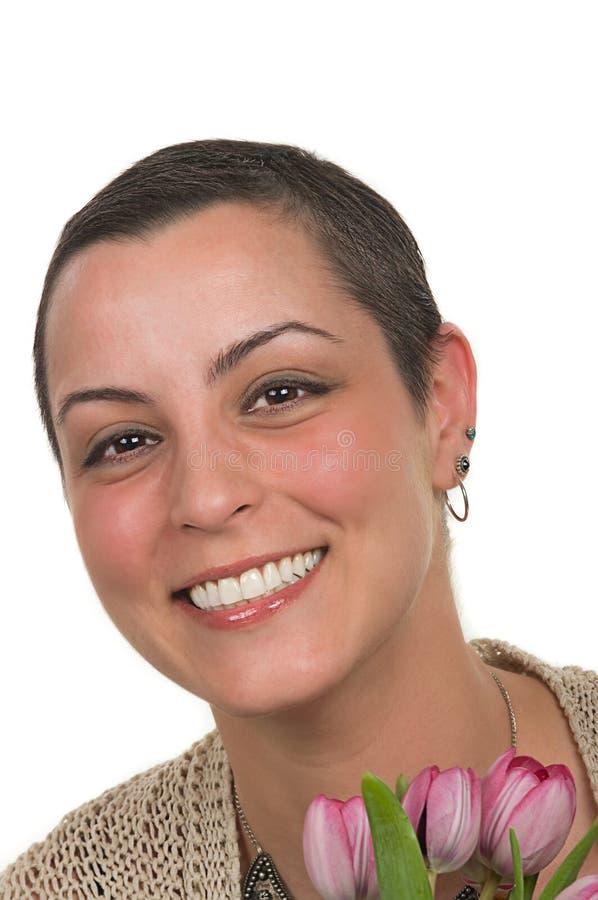 επιζών καρκίνου του μαστ&o στοκ εικόνα