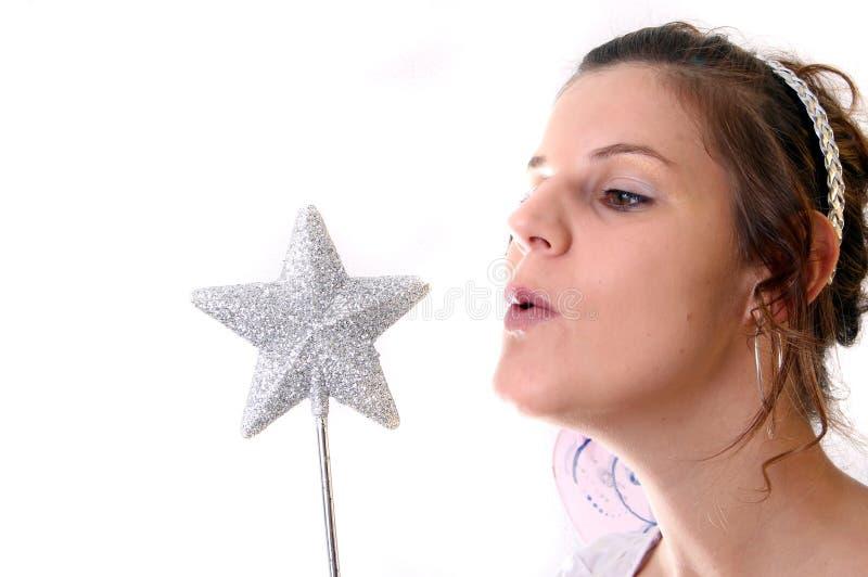επιθυμία αστεριών στοκ εικόνα με δικαίωμα ελεύθερης χρήσης