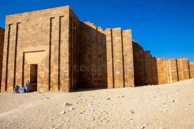 Επικήδειος σύνθετος Djoser (Zoser) στοκ εικόνα με δικαίωμα ελεύθερης χρήσης