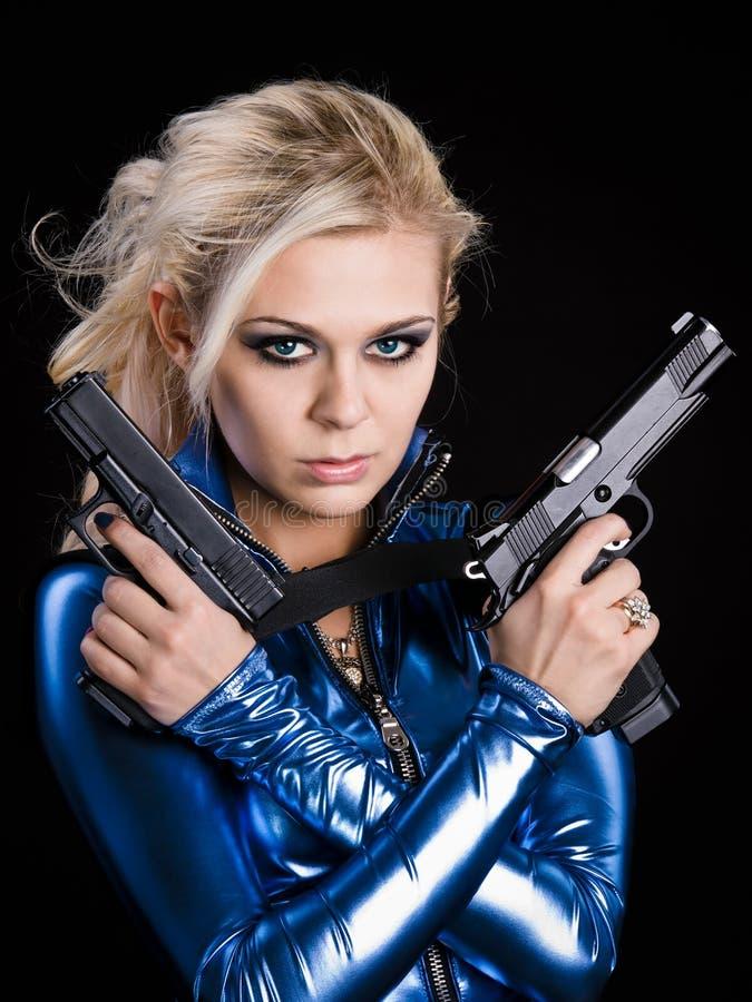 επικίνδυνο κορίτσι στοκ φωτογραφίες με δικαίωμα ελεύθερης χρήσης