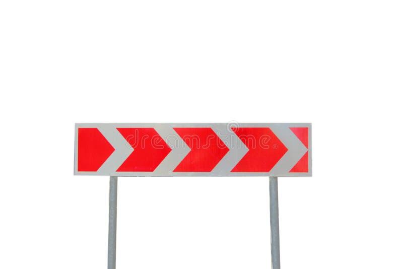 Επικίνδυνη στροφή κατεύθυνσης οδικών σημαδιών στοκ εικόνες