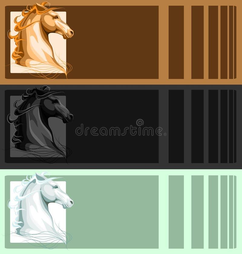 Download επικεφαλής άλογο εμβλ&et απεικόνιση αποθεμάτων. εικονογραφία από ανασκόπησης - 17056229