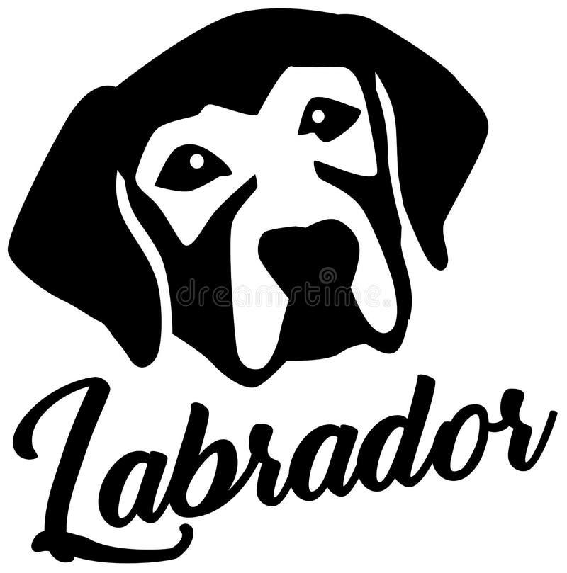 Επικεφαλής γραπτός του Λαμπραντόρ απεικόνιση αποθεμάτων