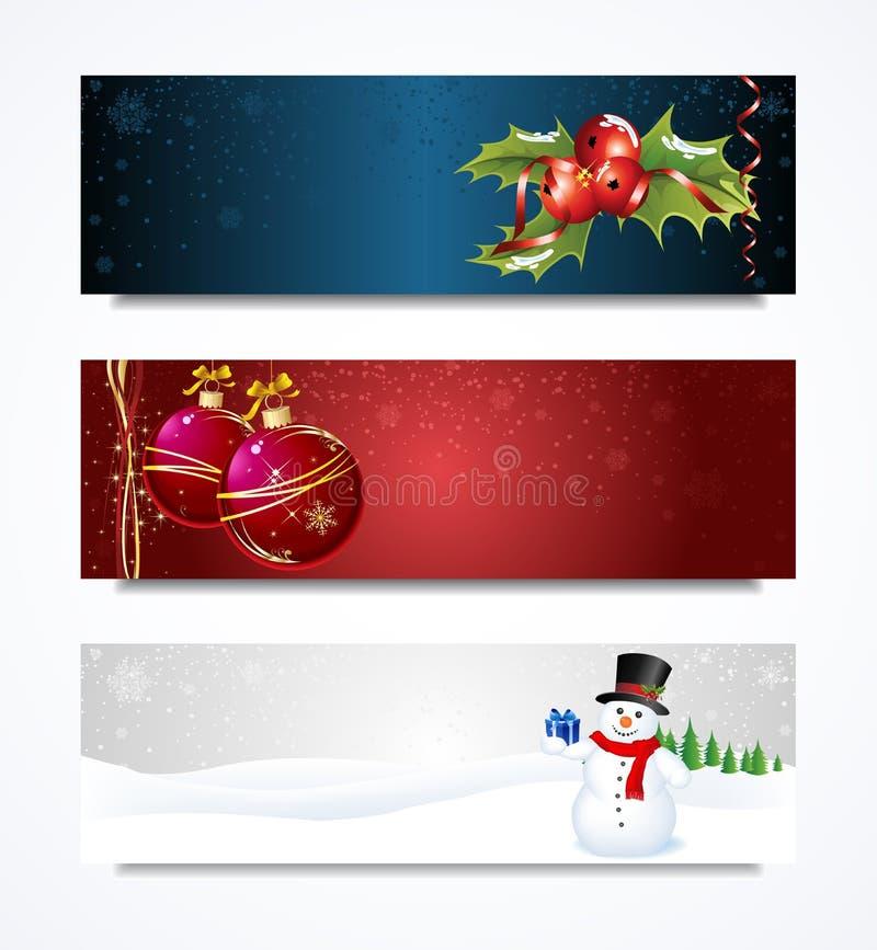 Επικεφαλίδα Χριστουγέννων ελεύθερη απεικόνιση δικαιώματος