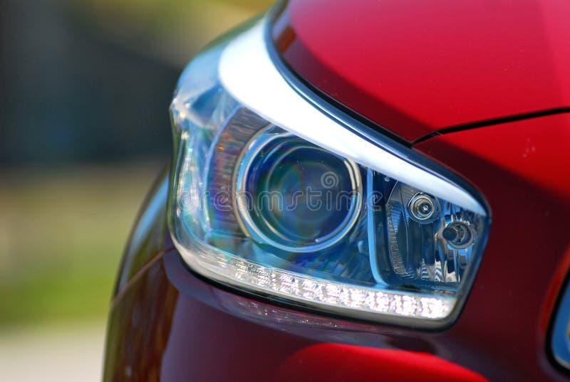 Επικεφαλής λαμπτήρας αυτοκινήτων στοκ εικόνες με δικαίωμα ελεύθερης χρήσης