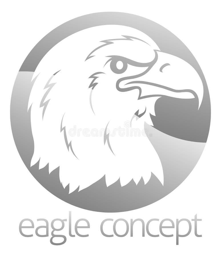 Επικεφαλής σχέδιο κύκλων αετών διανυσματική απεικόνιση
