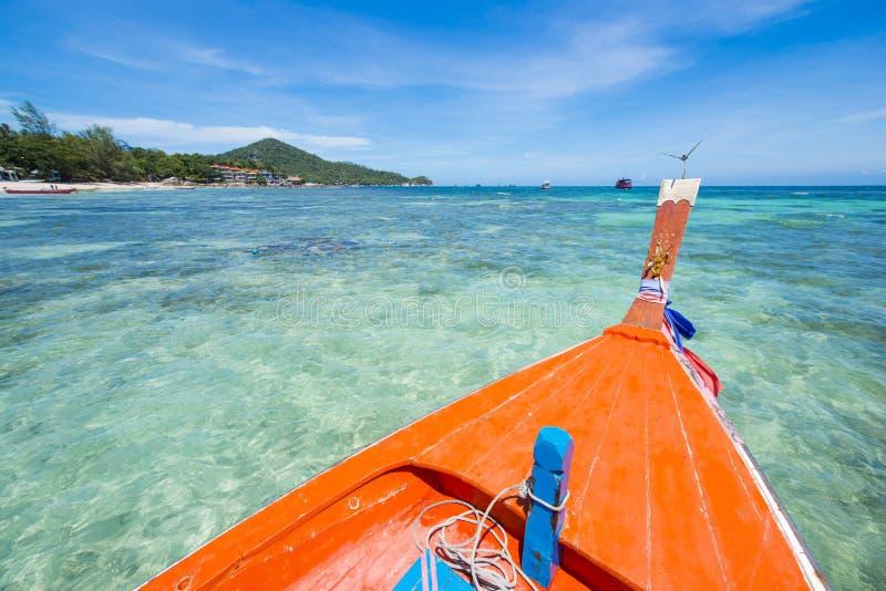 Επικεφαλής της μακριάς βάρκας ψαράδων ουρών στοκ φωτογραφία με δικαίωμα ελεύθερης χρήσης
