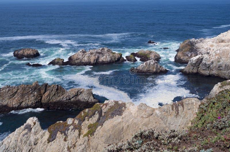 Επικεφαλής δύσκολες ακτές Bodega στοκ φωτογραφία με δικαίωμα ελεύθερης χρήσης