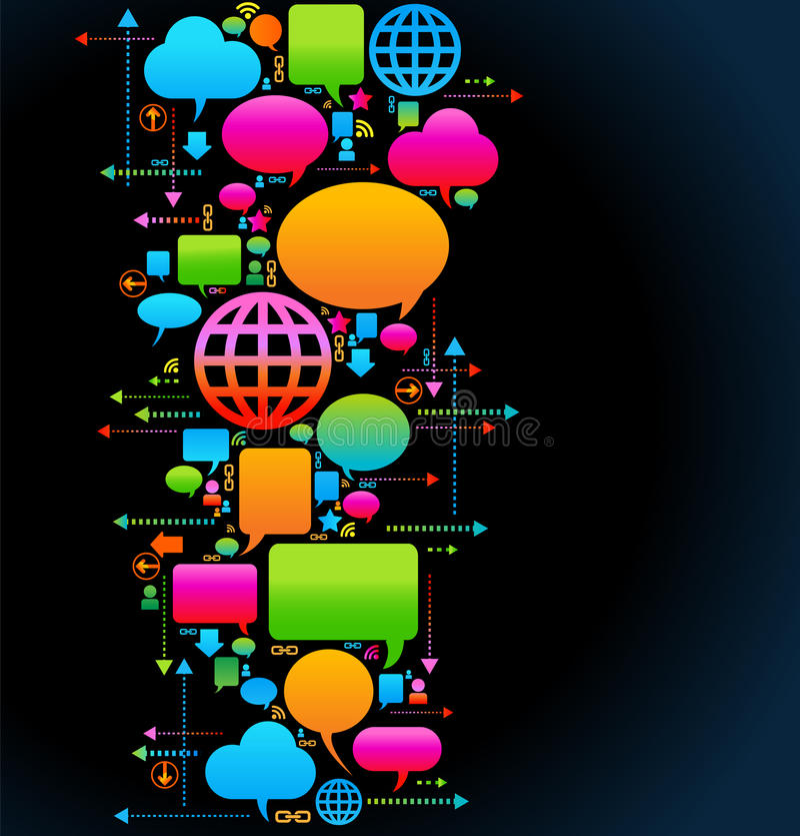 επικοινωνία ανασκόπησης ελεύθερη απεικόνιση δικαιώματος