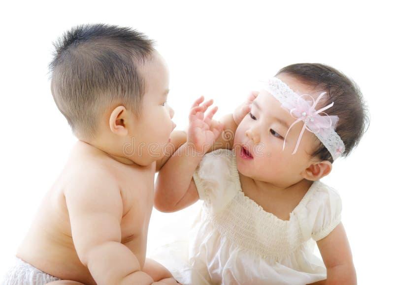 επικοινωνία μωρών στοκ εικόνα με δικαίωμα ελεύθερης χρήσης