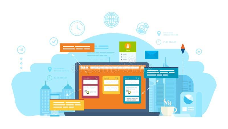 Επικοινωνία, σε απευθείας σύνδεση συνομιλίες και διάλογοι, πόροι Ιστού, διαβουλεύσεις, μηνύματα πληροφοριών απεικόνιση αποθεμάτων