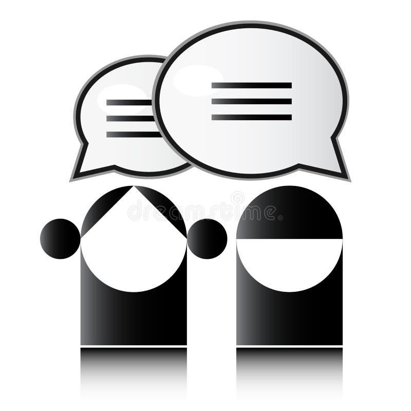 επικοινωνία διανυσματική απεικόνιση