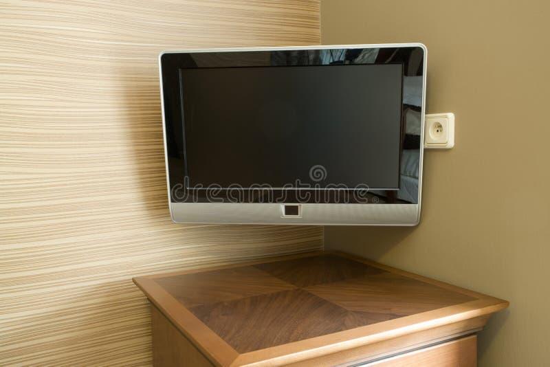 επικολλημένος τοίχος TV στοκ εικόνα με δικαίωμα ελεύθερης χρήσης