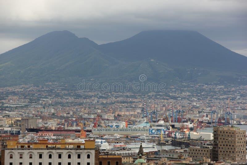 επικολλήστε τη Νάπολη Β&epsilo στοκ φωτογραφία με δικαίωμα ελεύθερης χρήσης