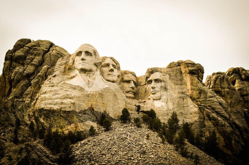 Επικολλήστε Rushmore στοκ φωτογραφία με δικαίωμα ελεύθερης χρήσης