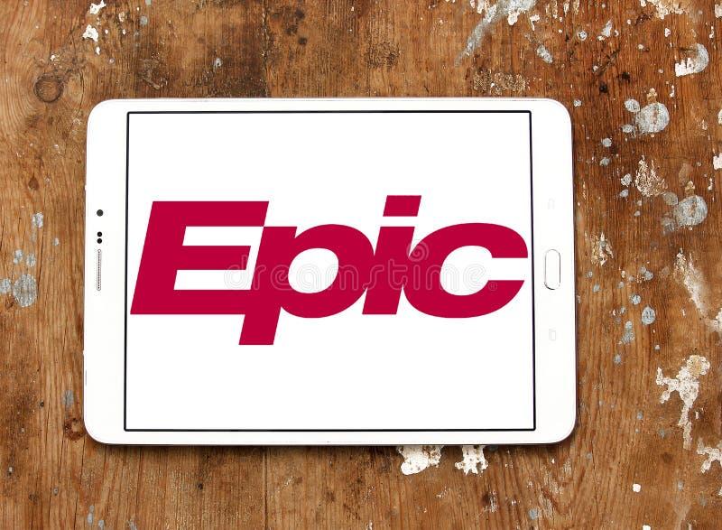 Επικό λογότυπο επιχείρησης συστημάτων στοκ φωτογραφίες με δικαίωμα ελεύθερης χρήσης