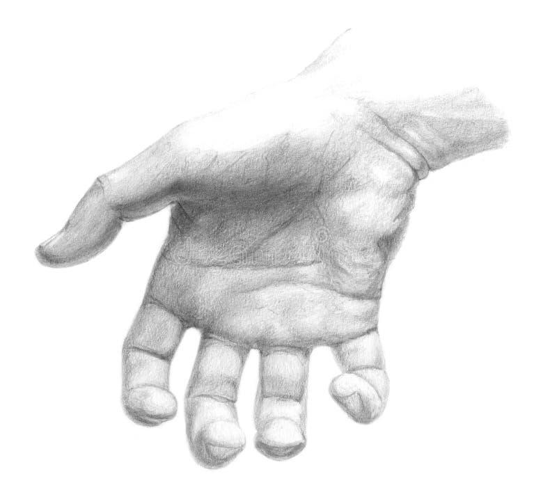 επιλέγοντας χέρι διανυσματική απεικόνιση