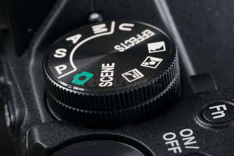 Επιλογέας μιας ψηφιακής κάμερα στοκ εικόνα